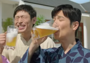 堺雅人のビールCM動画