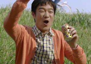 堺雅人のビールCM動画フリスビー