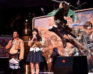 石川由依と進撃の巨人とリヴァイとジョイポリス