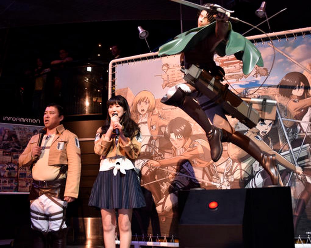 【ジョイポリスが進撃の巨人発表!】石川由依&リヴァイ