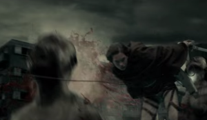 【立体機動&キスシーンが不評?】実写映画『進撃の巨人』3