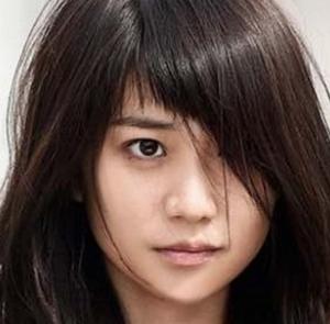 大島優子の前髪センター分け5