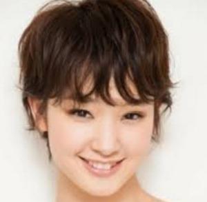 ショート髪型が似合う女優1